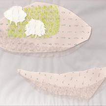 """Parclo #2, collage, 2013, 8.5""""x9.75"""""""