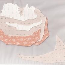 """Parclo #5, collage, 2013, 8.5""""x9.75"""""""