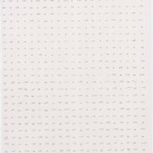 "Scrub - Short Grass, screenprint on rag paper, 2013, 11""x15"""